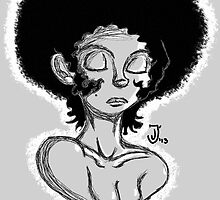 Afro Beauty (phone) by BlackRose108