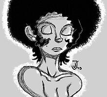 Afro Beauty (phone) by BlackRose108