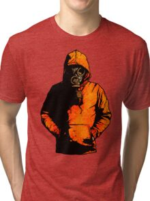 vulpes pilum mutat, non mores (Colour Shirt Version) Tri-blend T-Shirt