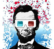 Abraham Lincoln - 3D by Adamzworld