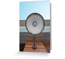 Vintage Outdoor Lamp Greeting Card