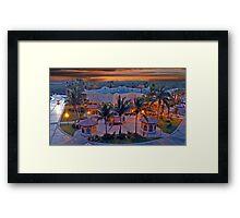 Cabo Evening Sunset Framed Print