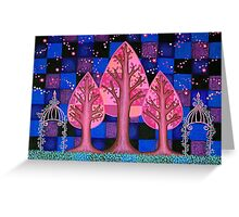 Midnight in the Garden Greeting Card