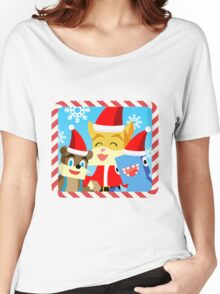 Minecraft Youtuber Stampy Cat, iBallisticsquid, L for Lee x (Christmas, Holiday, Winter Limited Edition) Women's Relaxed Fit T-Shirt