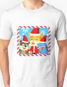 Minecraft Youtuber Stampy Cat, iBallisticsquid, L for Lee x (Christmas, Holiday, Winter Limited Edition) T-Shirt