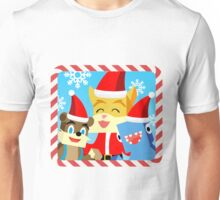 Minecraft Youtuber Stampy Cat, iBallisticsquid, L for Lee x (Christmas, Holiday, Winter Limited Edition) Unisex T-Shirt