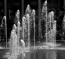 Fountains Playing by Carolyn Boyden