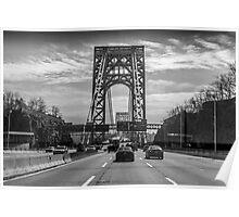 George Washington Bridge - New York City Poster
