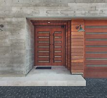 Modern House Entrance by visualspectrum