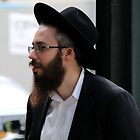Jewish Man in NY by Carolyn Boyden