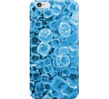 Cyan Crystals iPhone Case/Skin