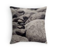 Stone Marker Throw Pillow
