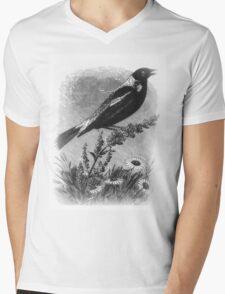 Artsy Bird Mens V-Neck T-Shirt