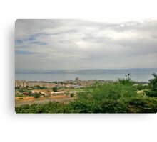 From Tveria to the Kineret Canvas Print