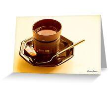 Photographer's Cuppa Greeting Card