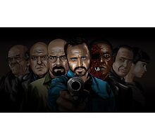 Breaking Bad line-up Photographic Print