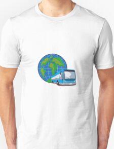 Shuttle Coach Bus Retro T-Shirt