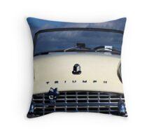 Triumph TR3 Throw Pillow