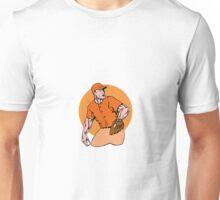 American Baseball Player Pitcher Unisex T-Shirt