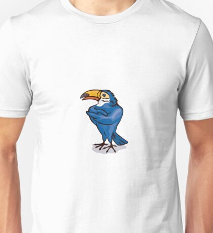 Toucan with Arms Folded Unisex T-Shirt