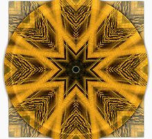 Tiger Eye Mandala by haymelter