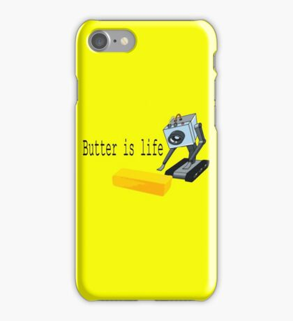 Butter is life iPhone Case/Skin
