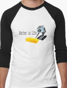 Butter is life Men's Baseball ¾ T-Shirt