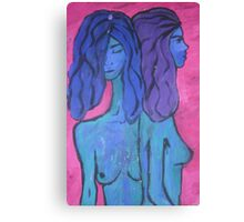 Melancholia from pink Canvas Print