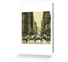 Urbanites Greeting Card