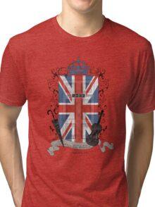 Sherlock Holmes inspired crest Tri-blend T-Shirt