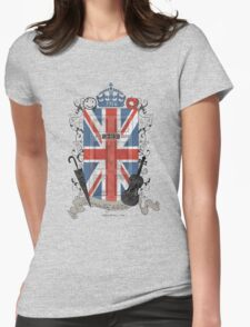Sherlock Holmes inspired crest Womens Fitted T-Shirt