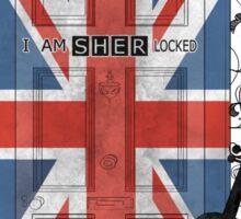 Sherlock Holmes inspired crest Sticker