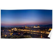 Florence by night Poster