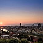 Sunset in Florence by Mattia  Bicchi Photography