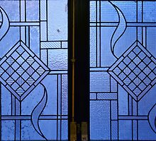 Mathematical shapes in windows by Arie Koene
