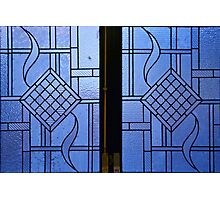 Mathematical shapes in windows Photographic Print