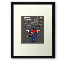 Transformers Patent - Colour Framed Print