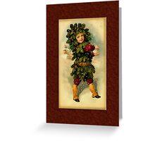 Holiday Boy Greeting Card Greeting Card