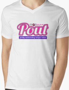 pout Mens V-Neck T-Shirt