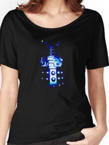 Dalek Alpha – Blue Women's Relaxed Fit T-Shirt