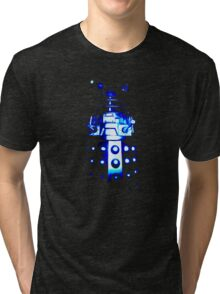 Dalek Alpha – Blue Tri-blend T-Shirt