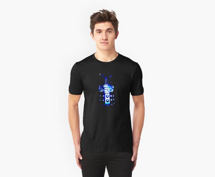 Dalek Alpha – Blue by Steven Miscandlon
