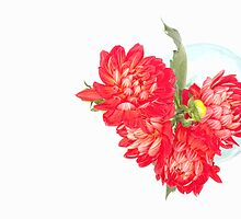 Dahlias in a vase... (4) by Bob Daalder