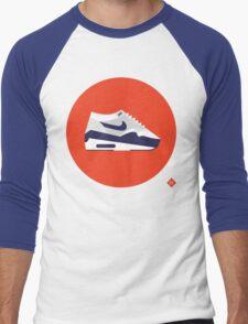 AM1 Patta Purple Men's Baseball ¾ T-Shirt