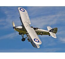 Hawker Hind K5414/XV G-BTVE Photographic Print