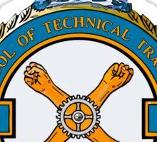 No 4 School of Technical Training Sticker