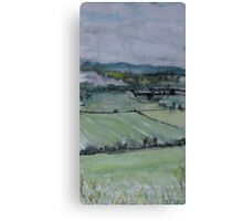 Perthshire, looking towards Dunsinane Canvas Print