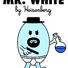 Mr White by SwanStarDesigns