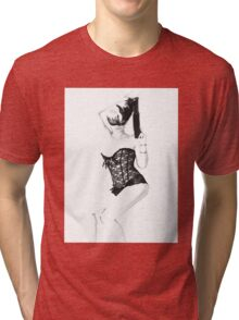 Pin Up - Burlesque  Tri-blend T-Shirt