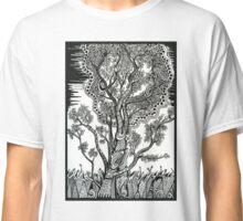 Windblown, A Tree Ink Drawing Classic T-Shirt